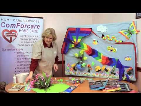 eHow Video: Bulletin Board Ideas for Nursing Homes - YouTube