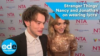 Stranger Things: Charlie Heaton & Natalia Dyer on wearing lycra