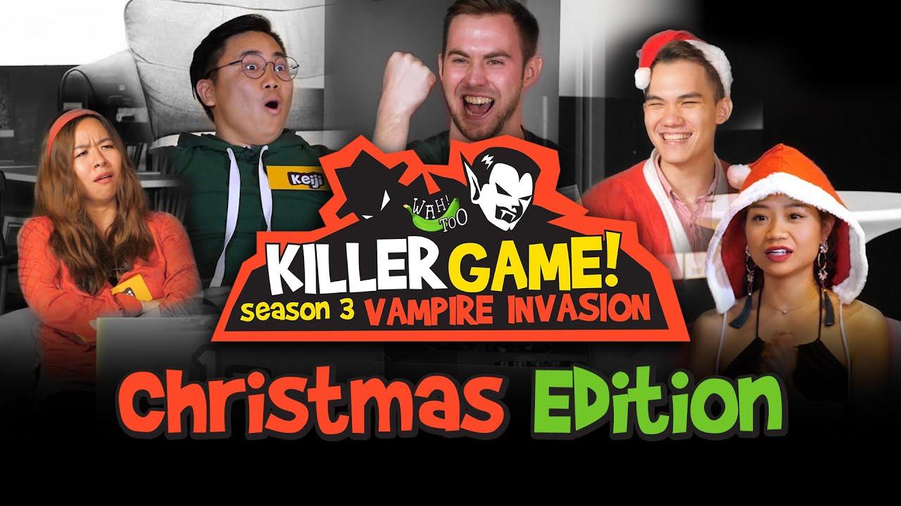 Killer Game Vampire Invasion S3EP2 - Can Santa Survive The Killer Game?