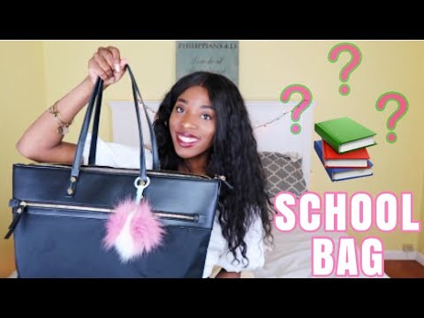 WHAT'S IN MY BAG 2018 | Law School/University