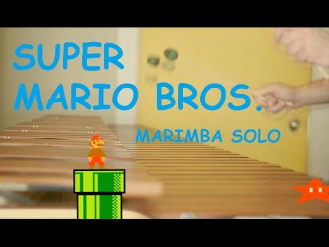 Super Mario Bros (Medley) | Marimba Solo | mattnicklemusic