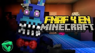 FIVE NIGHTS AT FREDDY'S 4 EN MINECRAFT  | iTownGamePlay FNAF