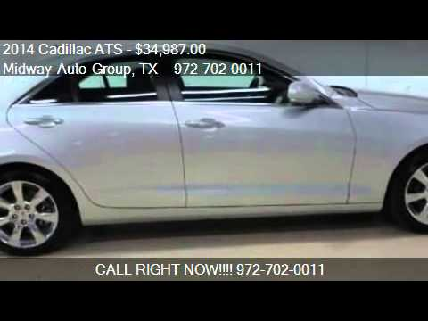 2014 cadillac ats luxury for sale in addison tx 75001 youtube. Black Bedroom Furniture Sets. Home Design Ideas