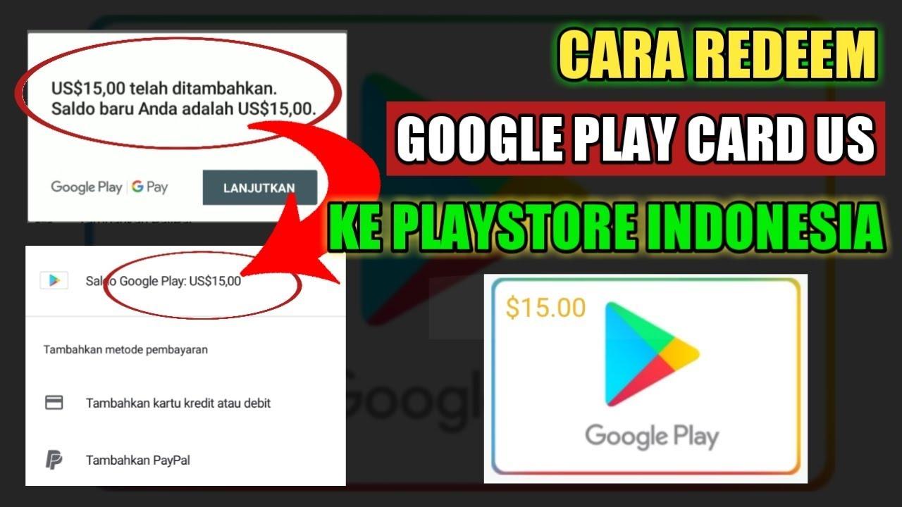18+ Cara Mencairkan Saldo Google Play Terbaru