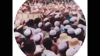 青海西宁 马阿訇的葬礼│一两天内组织动员了数十万穆斯林上街送行