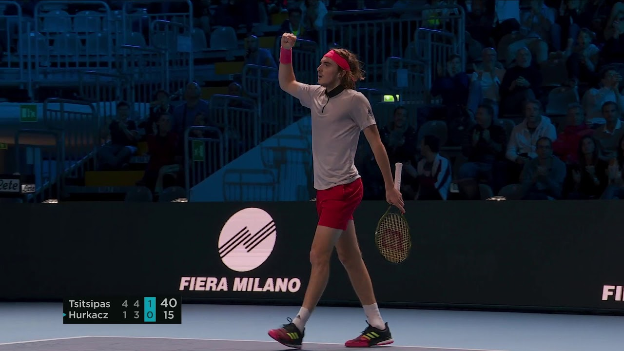 Hot Shot: Tsitsipas Finds The Angle With 'Highlight Reel' Winner In Milan 2018