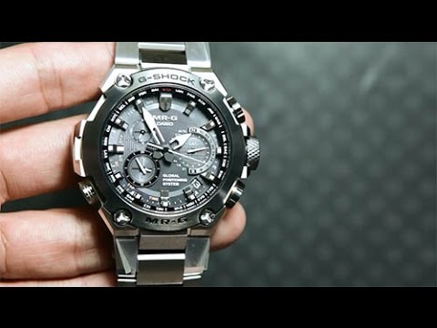 9446e0e7e0e Casio G-SHOCK MRG-G1000D-1A  PREMIUM CASIO WATCH WITH GPS - YouTube