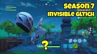 New Fortnite Season 7 Invisible Skin Glitch