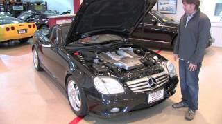 Mercedes-Benz Slk32 AMG Test Drive and Walk Around--D&M Motorsports 2012 Chris Moran