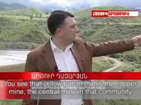 Mining is a Threat to Syunik - Armenia