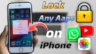 How To Lock Apps In Any IPHONE | apple apps Locked || how to Lock Apps on iPhone 2021 || screenshot 4