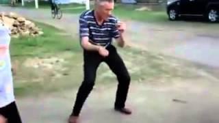 Прикол пьяный дядя танцует-Энже Сафина