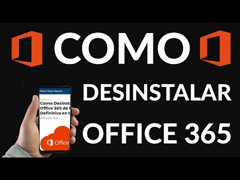 Cómo Desinstalar Office 365 de Forma Definitiva en tu PC