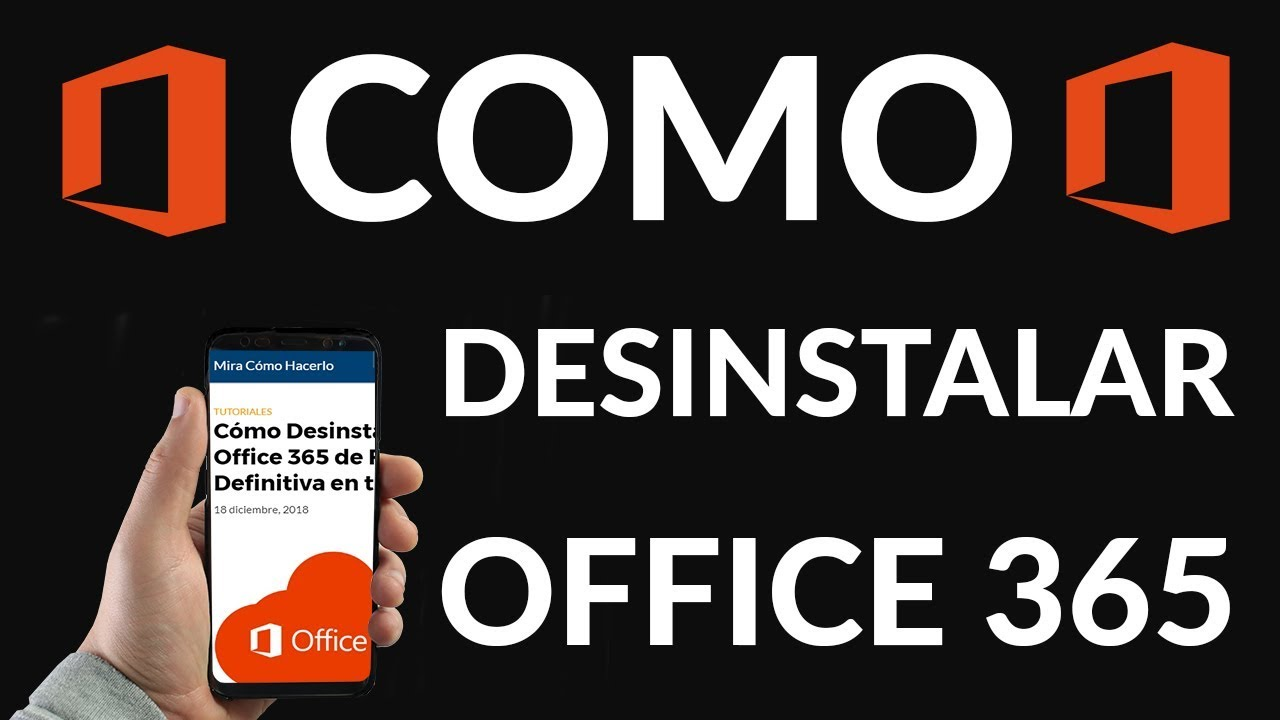 Descubra cómo Desinstalar office 365 de prueba, aquí