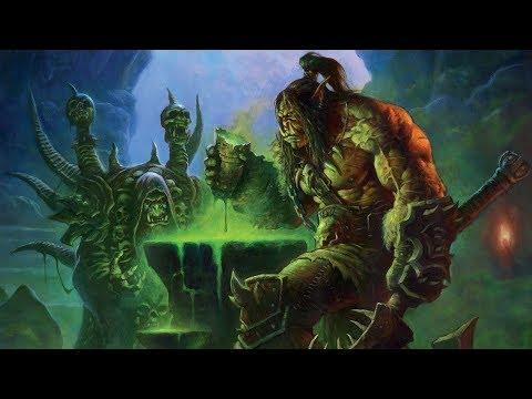 История Громмаша Адского Крика, часть 1. Warcraft   Вирмвуд