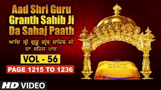 Aad Sri Guru Granth Sahib Ji Da Sahaj Paath (Vol - 56) | Page No. 1044 to 1066 | Bhai Pishora Singh