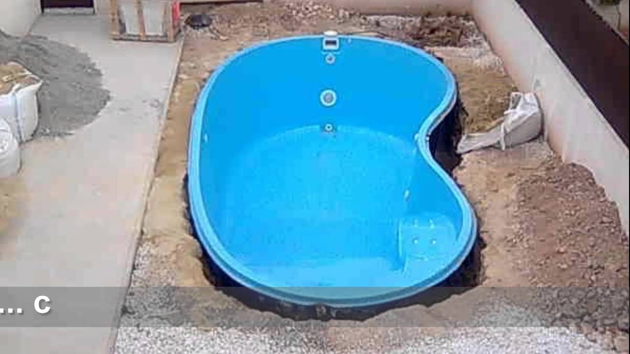 Barpool piscinas instalaci n piscina enterrada youtube - Piscinas de fibra ...