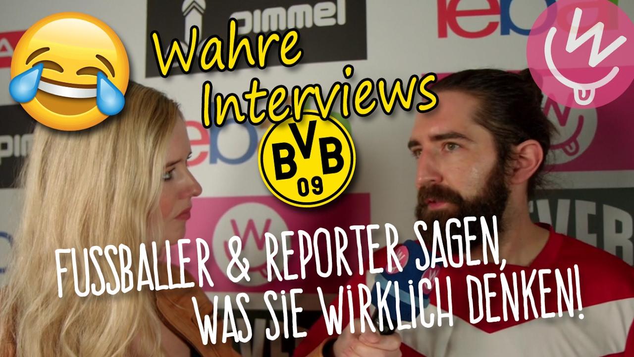 fussball interviews