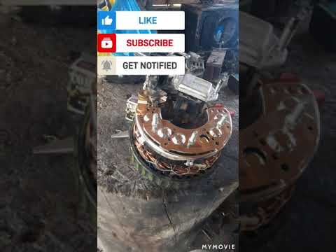 HOW TO REPLACE THE RECTIFIER OF 4JG2  ISUZU, STEP BY STEP