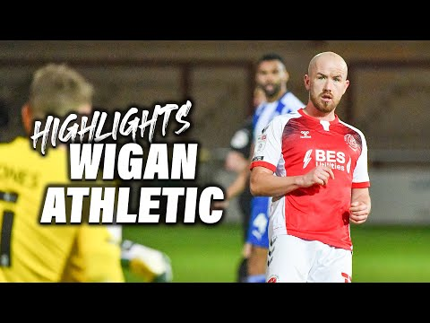 Fleetwood Town Wigan Goals And Highlights