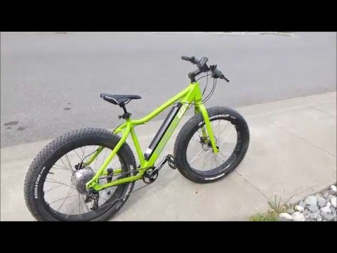 Citrus Cycles Surface 604 Boar Electric Fat Bike