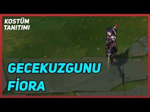 Gecekuzgunu Fiora (Kostüm Tanıtımı) League of Legends