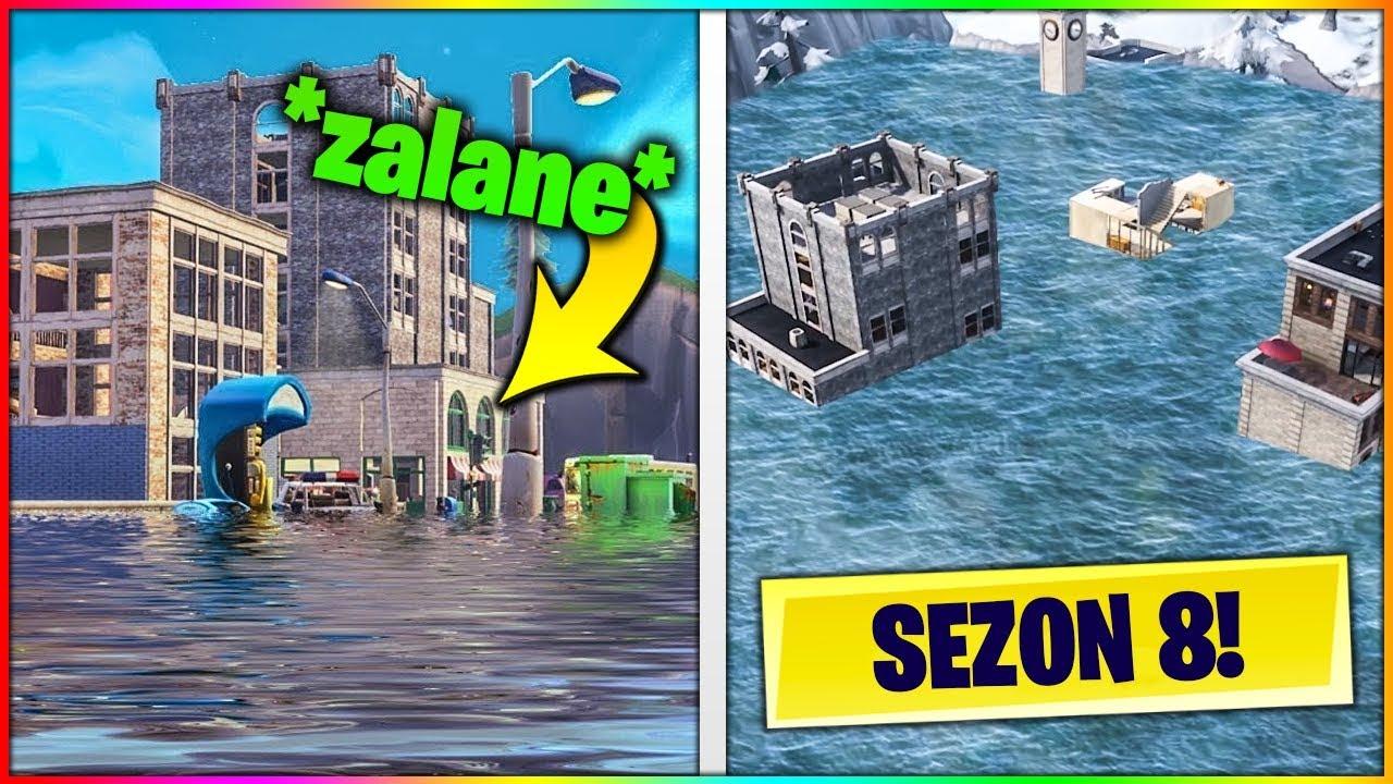 3 Lokacje Zniszczone W Fortnite Sezon 7 8 Youtube