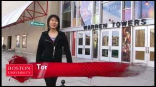 Living at BU: Warren Towers Dorms