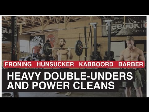 Mayhem Freedom - Heavy Rope & Power Cleans (Grip Burner)