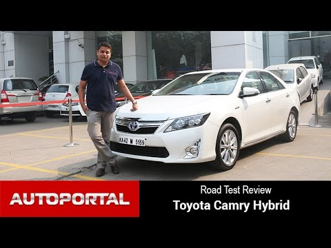 Toyota Camry Hybrid First Anniversary Test Drive Review - Autoportal