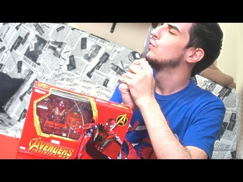 UNBOXING SPIDERMAN INFINITY WAR  Figuarts