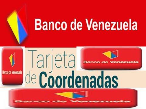banco de venezuela como solicitar tarjeta de coordenada