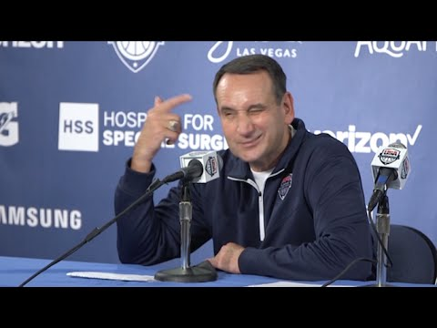 Coach K: After 40 years I'm smart enough to start Kevin Durant