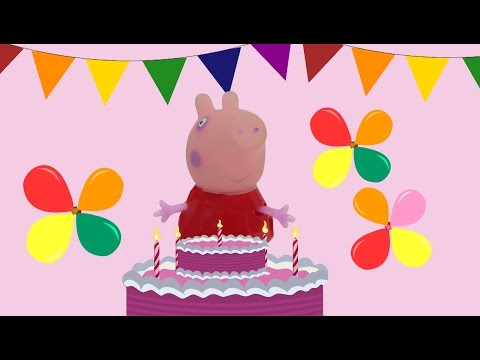 Happy Birthday Song with Peppa Pig