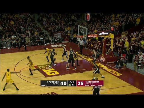 Big Ten Basketball Highlights – Purdue at Minnesota