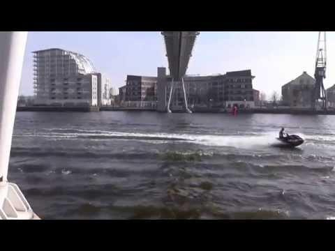 River Thames Jet Ski Exhibition, Royal Victoria Dock