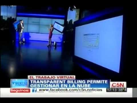 Silvina Moschini, Interview to C5N regarding Transparent Billing