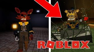 How to get True Pirate Badge And SECRET CHARACTERS in Roblox Fazbear's Revamp! Roblox FNAF