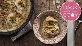 umm ali recipe look and cook step by step recipes   how to cook umm ali recipe