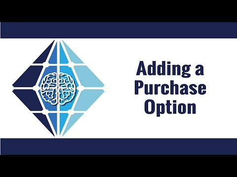 Adding a Purchase Option
