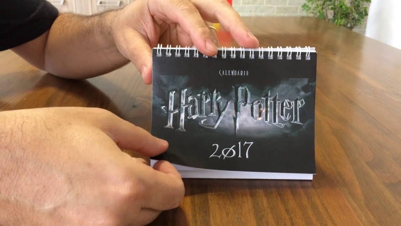 Calendario Harry Potter.Calendario 2017 Harry Potter