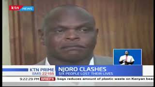 Deputy Speaker Samuel Tonui charged with promoting war like activities in Njoro clashes