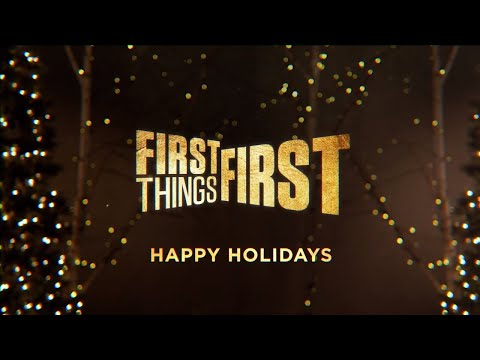 Happy Holidays From Cris, Nick and Jenna | First Things First