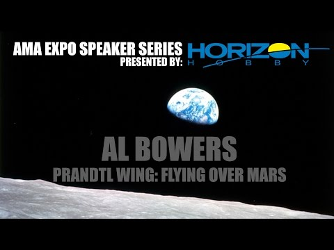 AMA Expo Al Bowers NASA Chief Scientist Armstrong Research Center