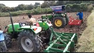 John Deere 5210(50hp) Vs deutz fahr 50hp tractors.