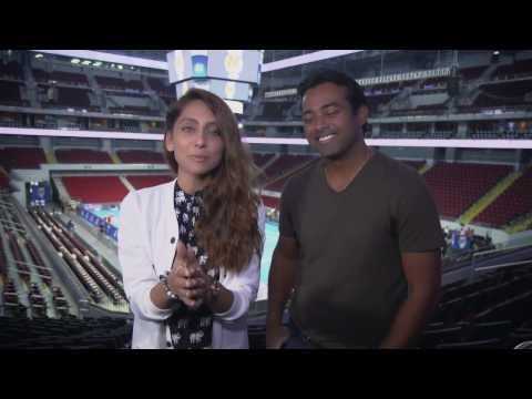 Up, Close and Personal with Leander Paes