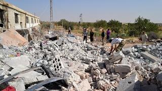 أخبار عربية | قتلى في غارات روسية على مدينة جسر الشغور بريف #إدلب