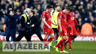 Football: Champion Leicester City battles EPL relegation