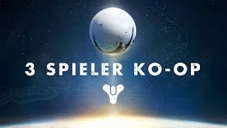 Destiny Gameplay #1 - 3-Spieler Koop - Let