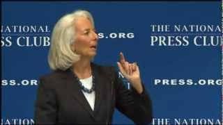 Occult Message in Speech by Christine Lagarde of IMF